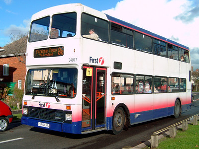 34017 - P540EFL - Bridgemary (Gregson Avenue) - 19.11.07