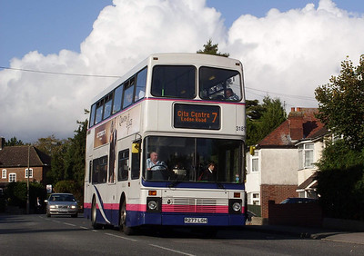 31877 - R277LGH - Swaythling (Stoneham Lane) - 21.10.08