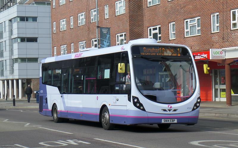47579 - SN14EBP - Portsmouth (Queen St)