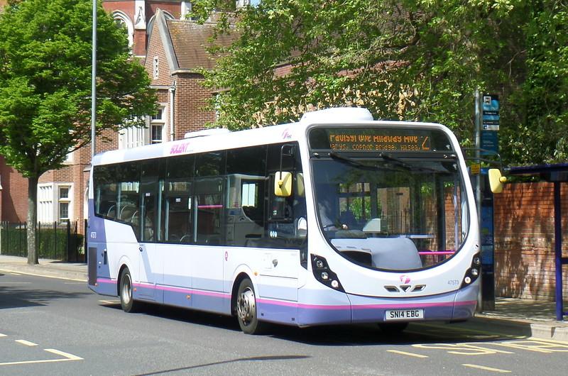 47573 - SN14EBG - Portsmouth (Bishop Crispian Way)