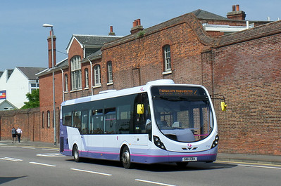 47582 - SN14EBX - Portsmouth (Queen St) - 12.7.14