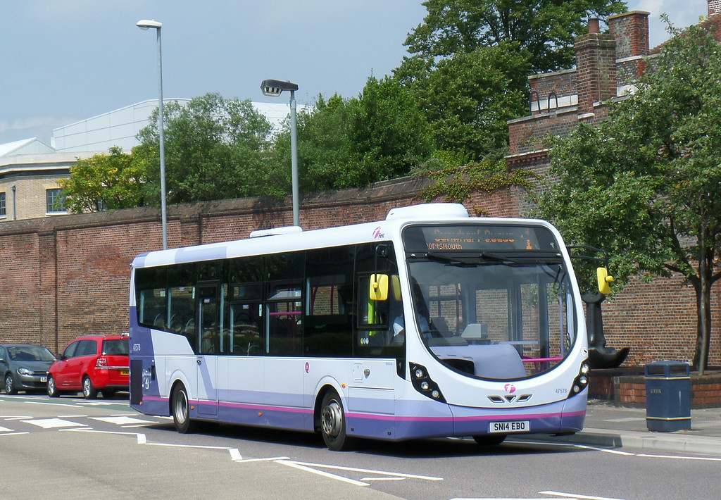 47578 - SN14EBO - Portsmouth (Queen St) - 12.7.14