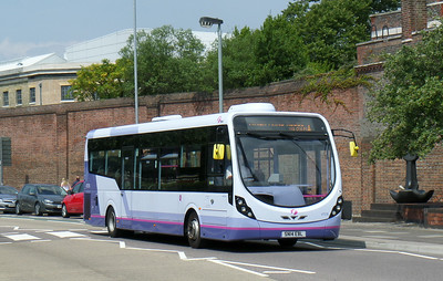 47576 - SN14EBL - Portsmouth (Queen St) - 12.7.14