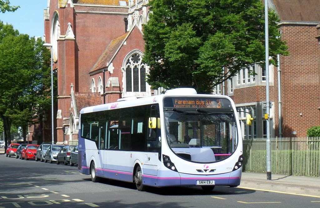 47574 - SN14EBJ - Portsmouth (Bishop Crispian Way)
