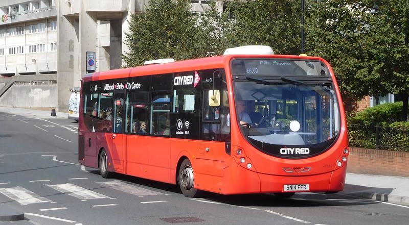 47610 - SN14FFR - Southampton (Blechynden Terrace)
