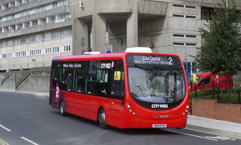 47608 - SN14FFO - Southampton (Central railway station)