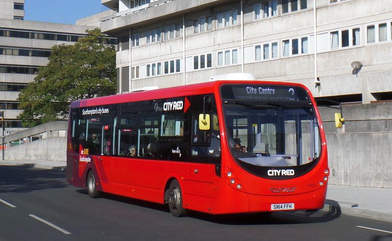 47603 - SN14FFH - Southampton (Central railway station)