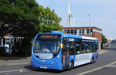 63299 - SN65OLA - Gosport (bus station)