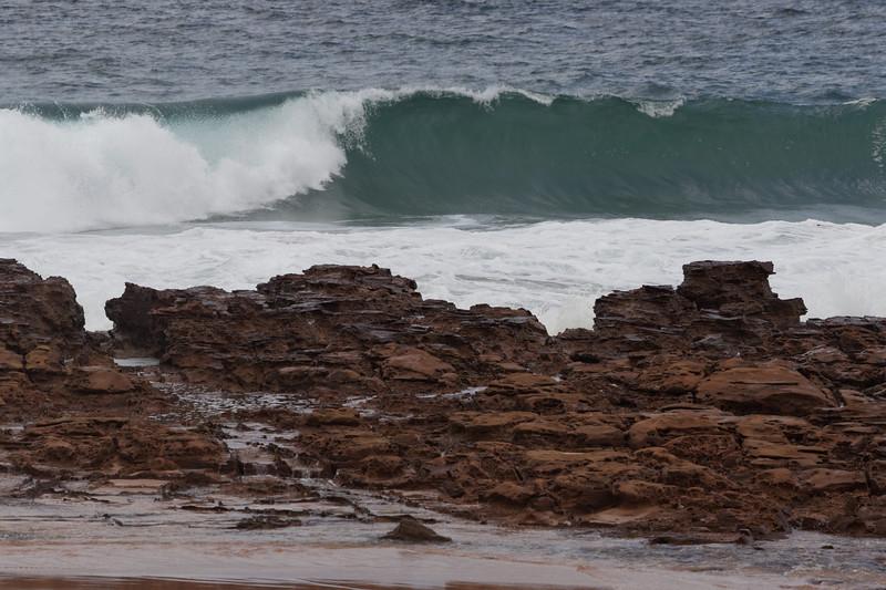 Waves at Avoca Beach