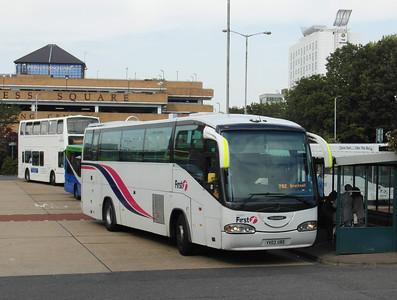 23011 - YV03UBD - Bracknell (bus station) - 15.9.12
