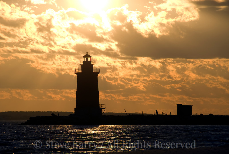 Delaware Breakwater Lighthouse<br /> Lewes, Delaware