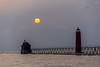Grand Haven South Pier Lighthouses
