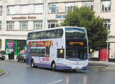 33664 - SN12AEF - Plymouth (Derry's Cross) - 29.7.13