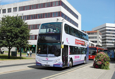 33658 - SN12ADX - Plymouth (Mayflower St) - 29.7.13