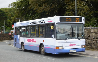 43878 - KN52NFU - St. Austell (bus station)