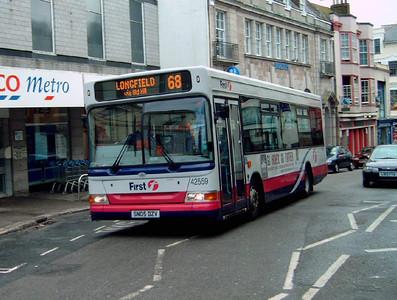 42559 - SN05DZV - Falmouth (town centre) - 24.7.05
