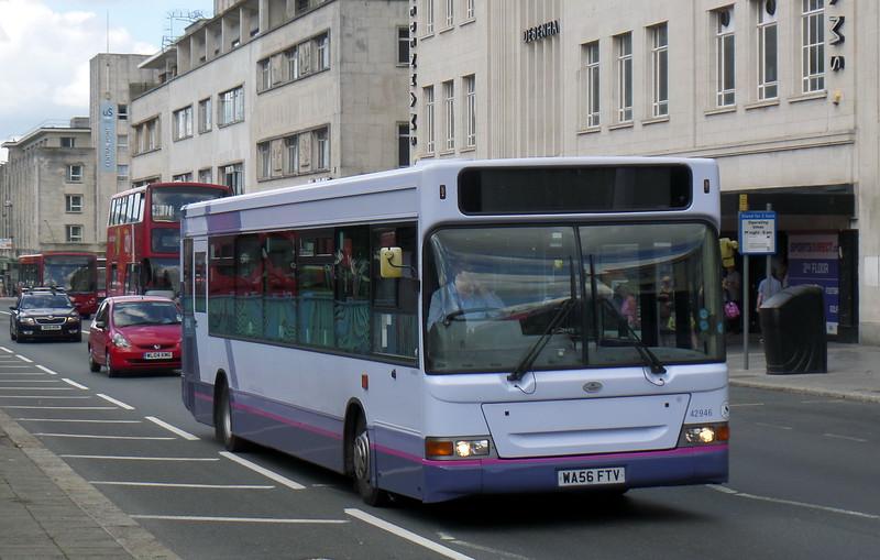 42946 - WA56FTV - Plymouth (Royal Parade)