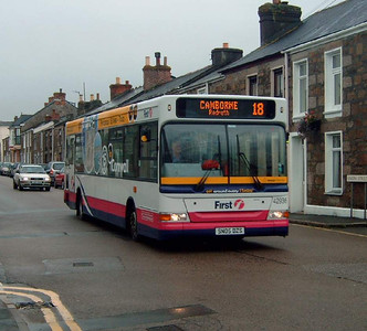42936 - SN05DZS - Camborne (bus station) - 27.7.05