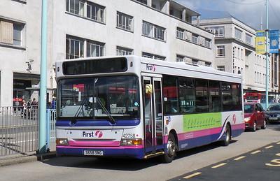42758 - S658SNG - Plymouth (Royal Parade)
