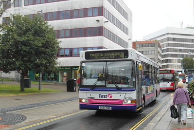 42784 - S684SNG - Plymouth (Mayflower St) - 29.7.13