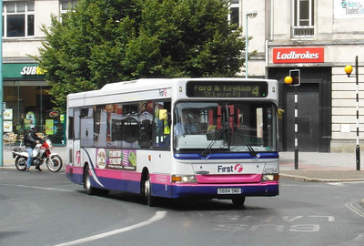 42784 - S684SNG - Plymouth (Derry's Cross) - 29.7.13