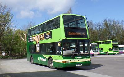 32874 - V874HBY - Taunton (bus station)