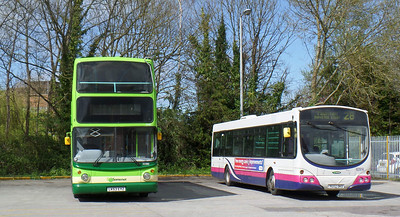 33380 - LK53EYZ - Taunton (bus station) - 8.4.14