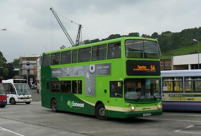 33382 - LK53EZB - Yeovil (bus station) - 27.8.14