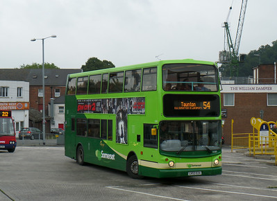 33381 - LK53EZA - Yeovil (bus station) - 27.8.14
