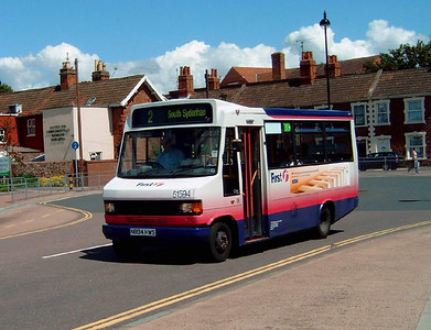 51594 - N894HWS - Bridgwater (bus station) - 30.7.07