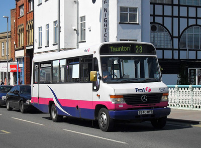 52640 - S340WYB - Taunton (Bridge St) - 28.5.10