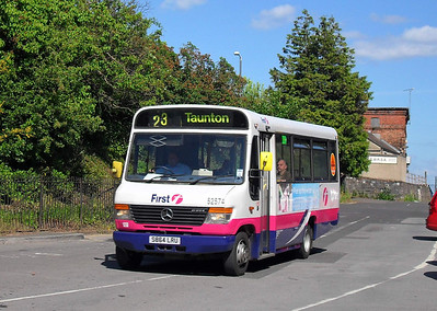 52574- S340WYB - Taunton (Rail Station) - 28.5.10