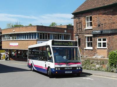 50467 - SJ03DPY - Taunton (Castle St) - 31.5.13