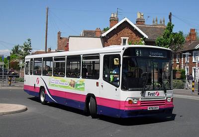 60598 - N761CKY - Bridgwater (bus station) - 27.5.10