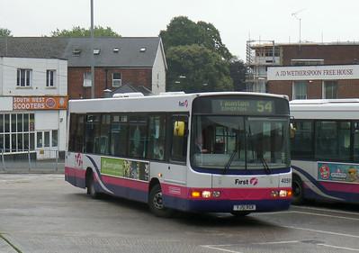 40591 - YJ51RGX - Yeovil (bus station) - 27.8.14