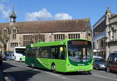 69206 - MV06DYU - Taunton (Corporation St)