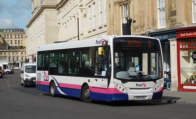 44914 - YX09AGZ - Bath (Spa railway station)