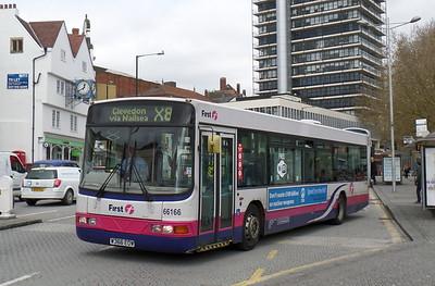 66166 - W366EOW - Bristol (Broad Quay)