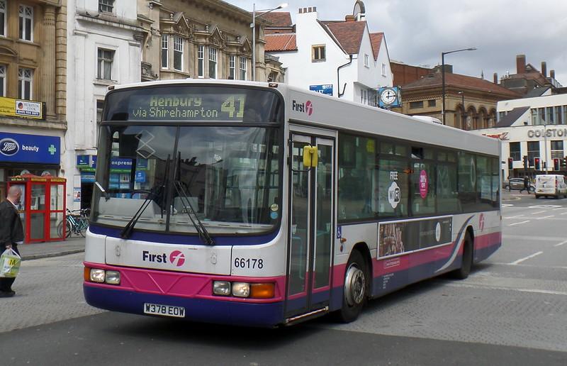 66178 - W378EOW - Bristol (Colston Avenue)