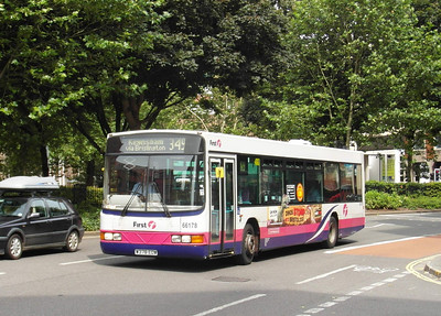 66178 - W378EOW - Bristol (Rupert St) - 11.8.12