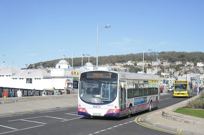 66935 - WX55UAB - Weston-super-Mare (seafront) - 26.10.11
