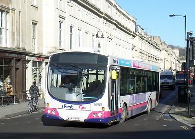 66938 - WX55TYZ - Bath (Spa railway station)