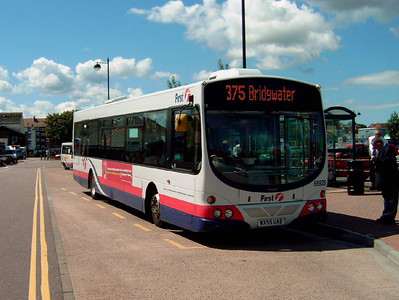 66935 - WX55UAB - Bridgwater (bus station) - 30.7.07