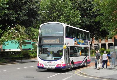 37011 - WX55VHW - Bristol (Rupert St) - 11.8.12