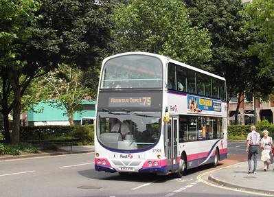 37009 - WX55VHU - Bristol (Rupert St) - 11.8.12
