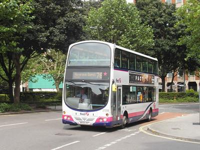 37008 - WX55VHT - Bristol (Rupert St) - 11.8.12
