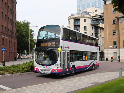37001 - WX55VHK - Bristol (Prince St) - 11.8.12