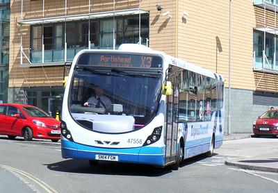 47558 - SN14FGM - Bristol (bus station)