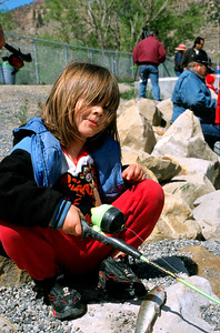 Gigliotti and Huntington Kids' Fishing events in 2003