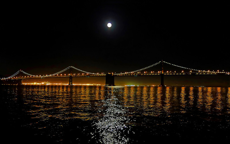 Fishermans Wharf - night view * click to view gallery